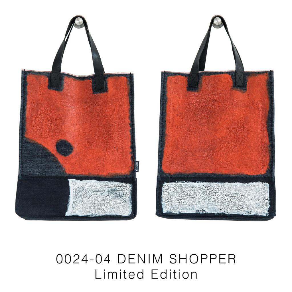 0024-04 Denim Shopper Serie Limitata / Limited Edition 33x41x17 cm
