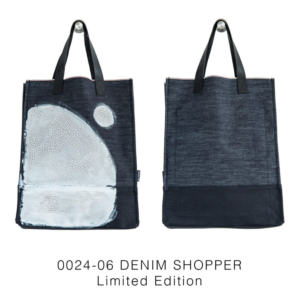 0024-06 Denim Shopper Serie Limitata / Limited Edition 33x41x17 cm