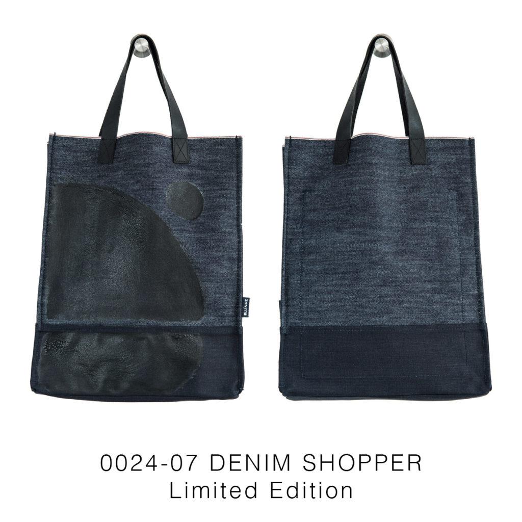 0024-07 Denim Shopper Serie Limitata / Limited Edition 33x41x17 cm
