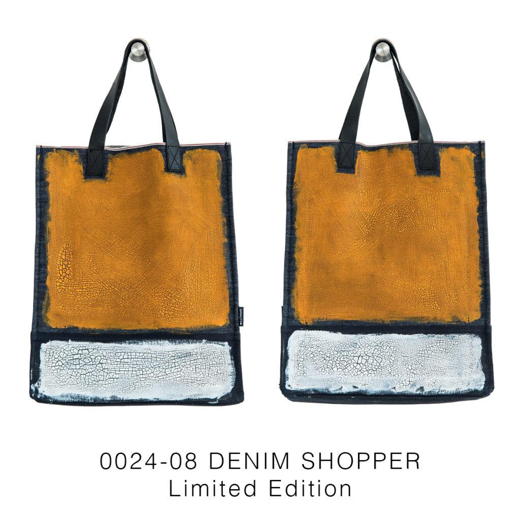 0024-08 Denim Shopper Serie Limitata / Limited Edition 33x41x17 cm