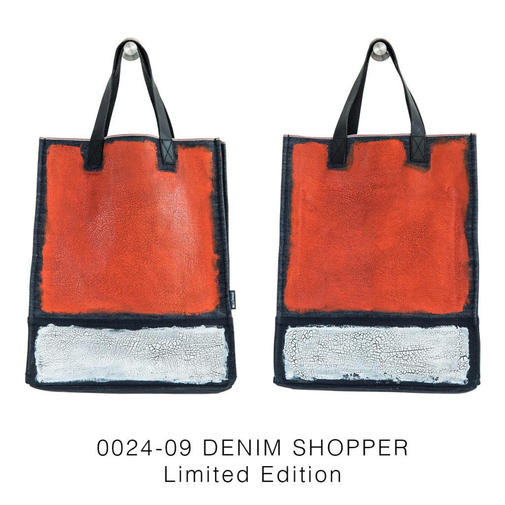 0024-09 Denim Shopper Serie Limitata / Limited Edition 33x41x17 cm