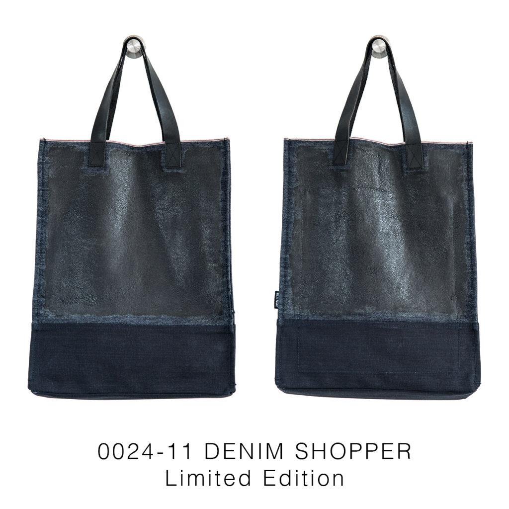 0024-11 Denim Shopper Serie Limitata / Limited Edition 33x41x17 cm