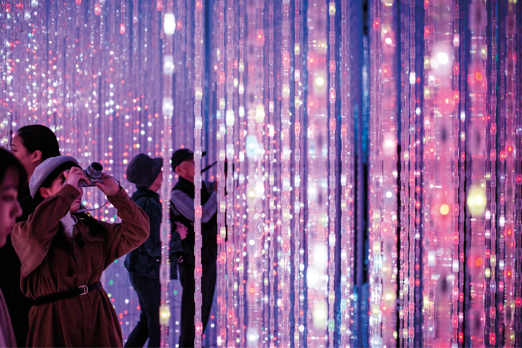 teamLab Borderless, Mori Building Digital Art Museum